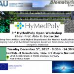Workshop Announcement – 5th December 2017, Erlangen