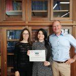 Ayesha Idrees wins ESAO-Gold PhD award